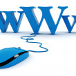 3d world wide web concept — Foto de Stock