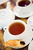Ontbijt thee — Stockfoto