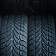 Car tires — Stock Photo