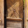alte Tür — Stockfoto