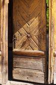 Old doorway — Stock Photo