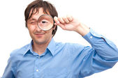 Magnifying glass — Stock Photo