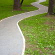 Park path — Stock Photo