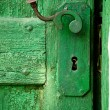 Stock Photo: Old Door detail