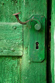 Old Door detail — Stock Photo