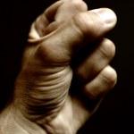 Male fist — Stock Photo