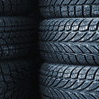Stock Photo: Car tires