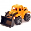 Toy digger — Stock Photo