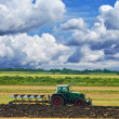 Agriculture tractor — Stock Photo