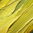 Stock Photo: Fragment of canvas with oil paints. Background. Macro