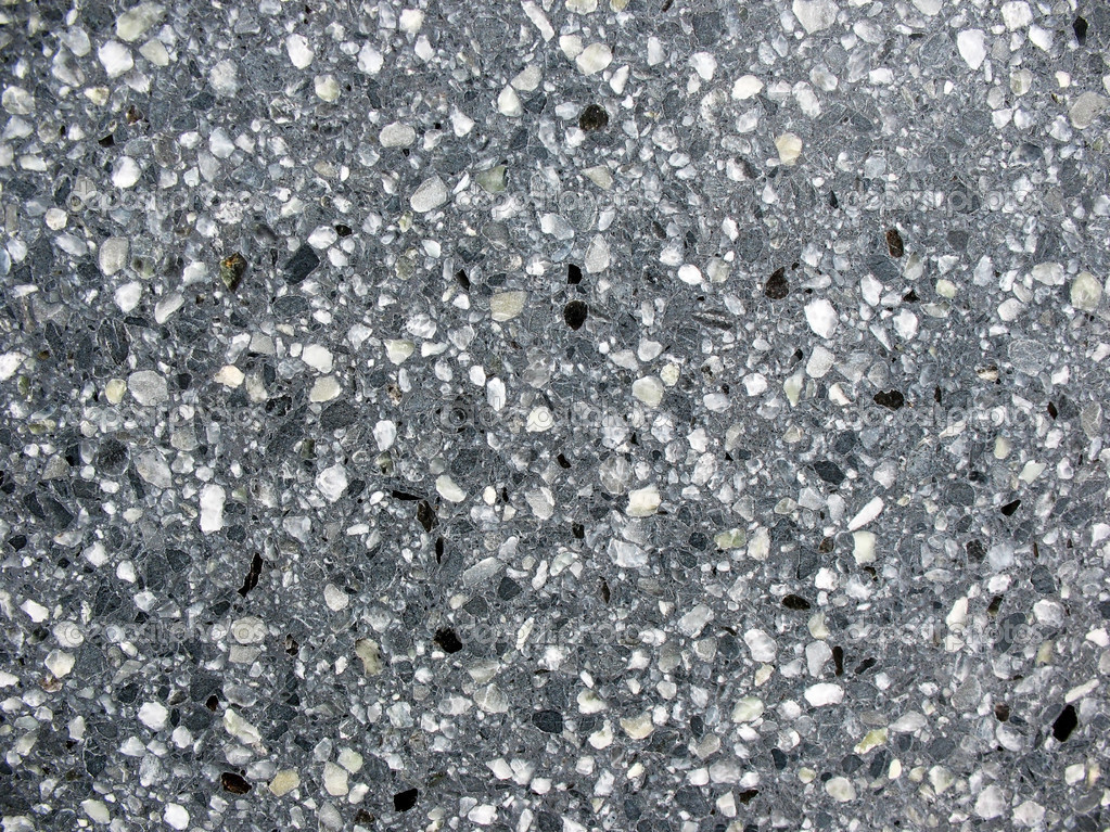 Lucido rivestimento pareti di graniglie di marmo. macro ...