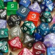 Stock Photo: Set of Role Playing Dice