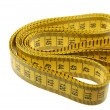 Stock Photo: Seamstress Tailors Measuring Tape