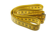 A Seamstress Tailors Measuring Tape — Stock Photo