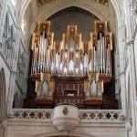 Church organ — Stock Photo #6117375