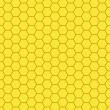 Honeycomb, bee hive background — Stockfoto
