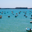 Boat dock in Cadiz - Stock Photo