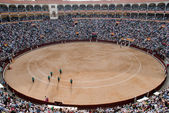 A bullfighting ring in Madrid, Spain — Stock Photo