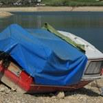 Boat and lake — Stock Photo #5580255