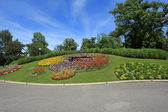 Famous flower clock, Geneva, Switzerland — Stock Photo