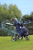Golf caddie — Stock Photo