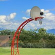 Basketball hoop - 图库照片