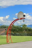 Panier de basket — Photo