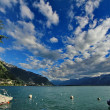 montreux switzerland — Stock Photo