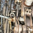 Aircraft mechanism — Stock Photo