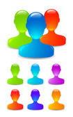 Concept for online social networking. — Stock Photo