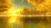 Amanecer de mar — Foto de Stock