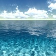 Ocean background — Stock Photo