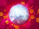 Night club disco ball — Stock Photo