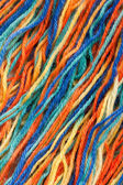 Close-up of colorful threads — Stock Photo