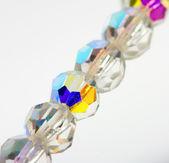 Diamanten halsketting — Stockfoto