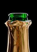Champaign bottle — Stock Photo