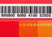 Código de barras — Fotografia Stock