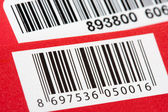 Bar codes — Stock Photo