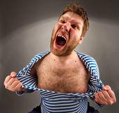 Kızgın mahkum — Stok fotoğraf
