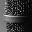 Modern microphone - Stock Photo