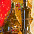 Stained glass composition of wine theme — Stock Photo