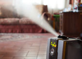 Humidifier with ionic air purifier — Stock Photo
