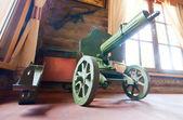 Old World War II machine gun — Stock Photo