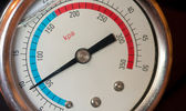 Manómetro de agua — Foto de Stock
