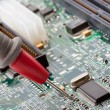 Analyzing electronics circuit — Stock Photo #5973539