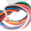Colorful electrical cables — Stock Photo #5973549