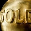 Big bullion of gold — Stock Photo