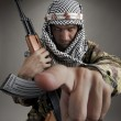 Serious middle eastern man - Foto Stock
