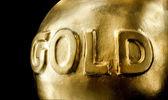 ゴールドの大きな地金 — ストック写真