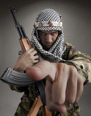 Serious middle eastern man — Stock Photo